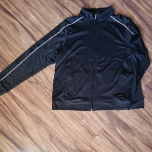 Athletech full zip black workout jacket